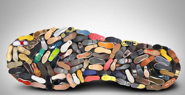 Schuhgröße in CM: Fußlänge in Schuhgröße Umrechner