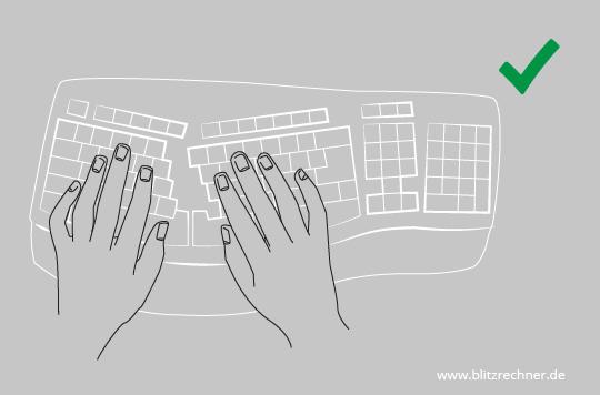 Ergonomische tastatur und maus  Ergonomisch Sitzen: Optimale Höhe von Tisch/Stuhl berechnen