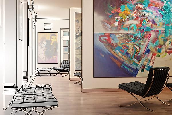 Was darf Kunst kosten? Die simple Formel des Kunstfaktors: Breite plus Höhe mal Faktor des Künstlers.