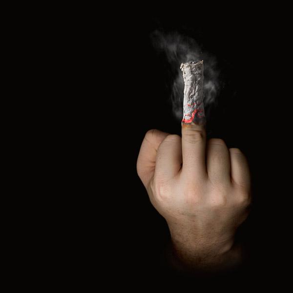 Die Weise, Rauchen aufzugeben, nicht zu genesen
