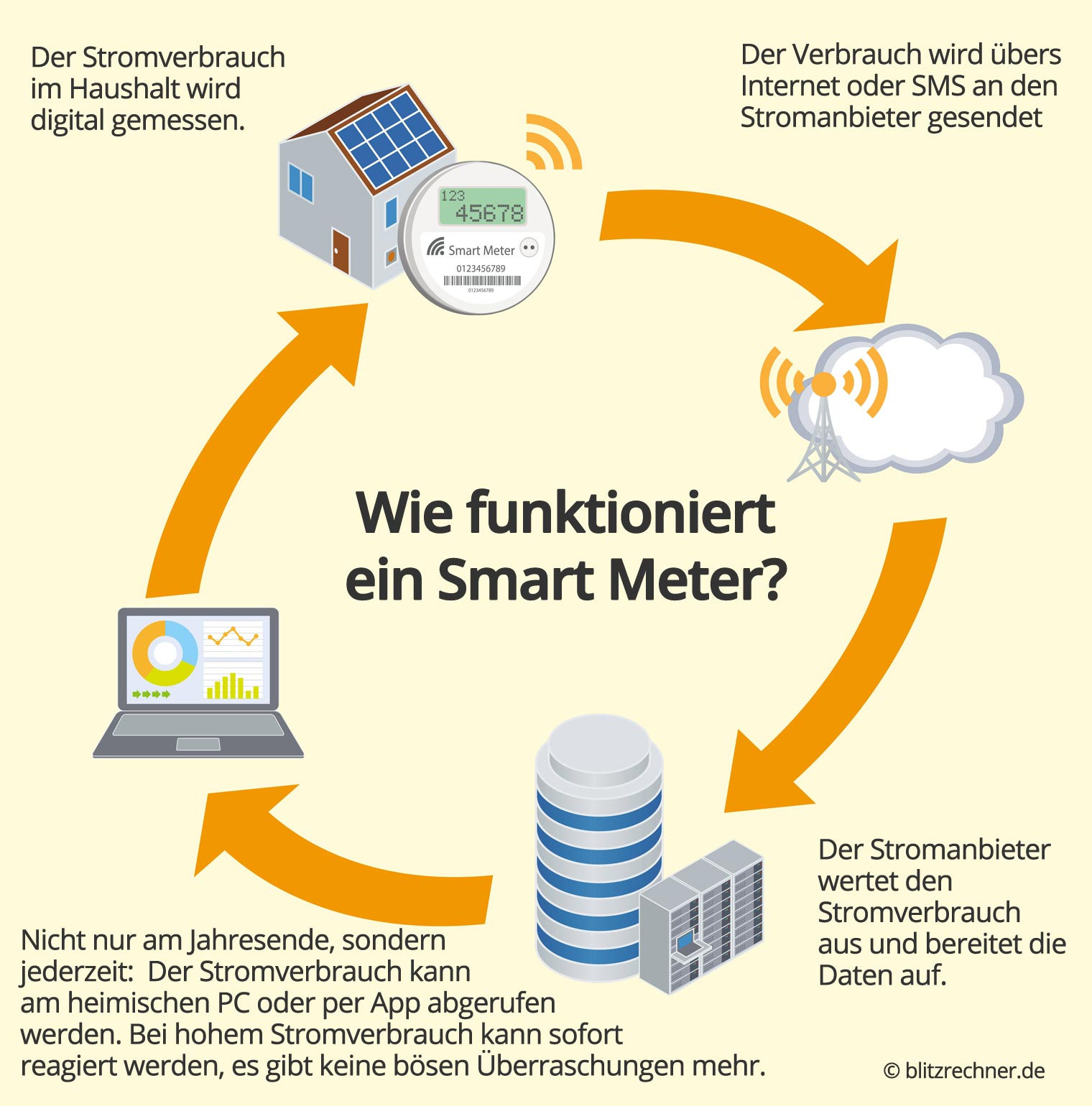 Wie funktionieren Smart Meter?