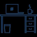 ergonomisch sitzen optimale h he von tisch stuhl berechnen. Black Bedroom Furniture Sets. Home Design Ideas