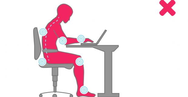 Steh-Sitz-Tisch: Optimale Höhe berechnen + Tipps für die richtige Haltung