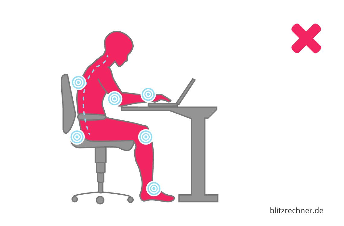 Steh Sitz Tisch Optimale Höhe Berechnen Tipps Für Die Richtige