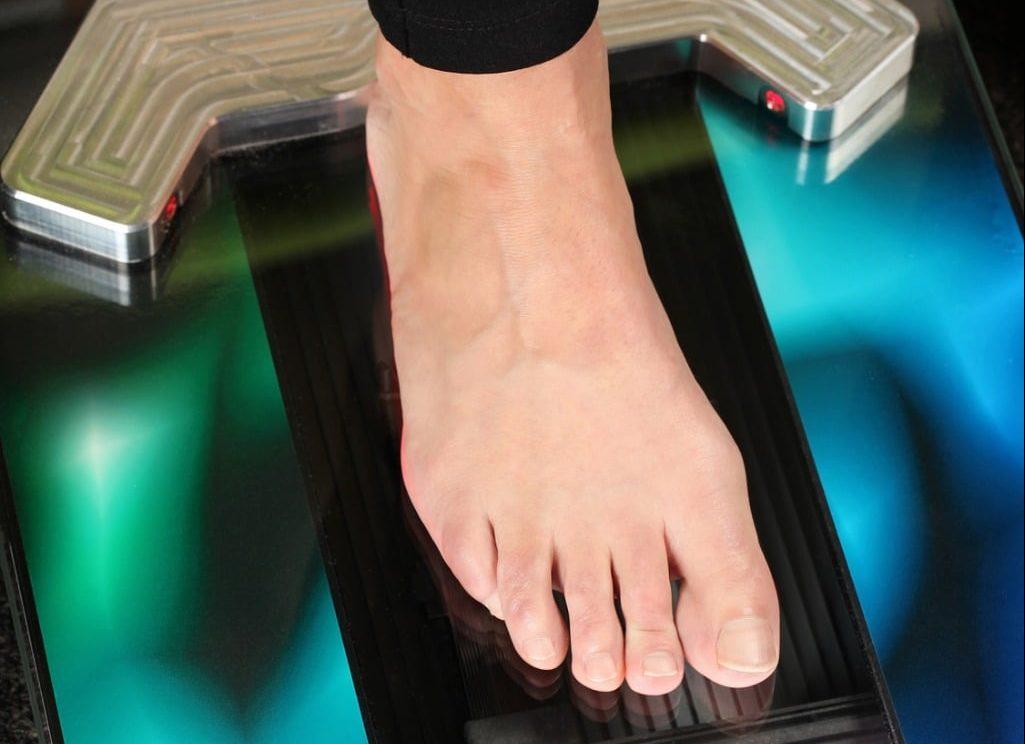 Scanner Fußgröße und Fußlänge