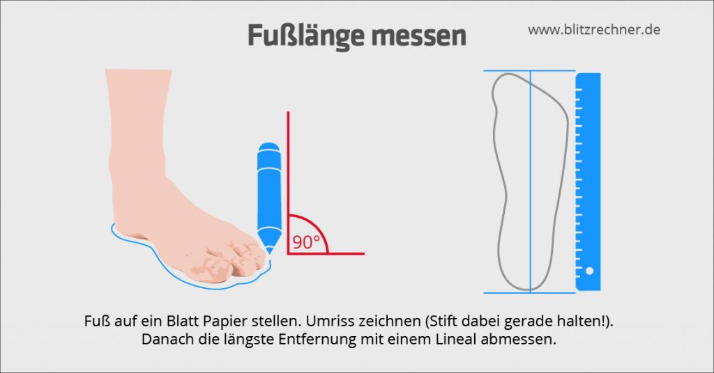 fusslaenge-messen