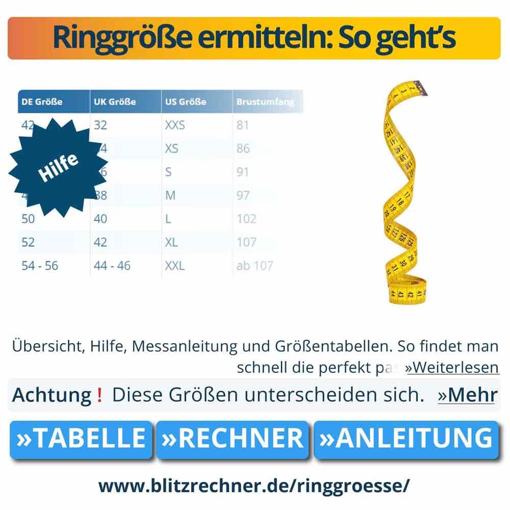 Ringgröße ermitteln: So geht's
