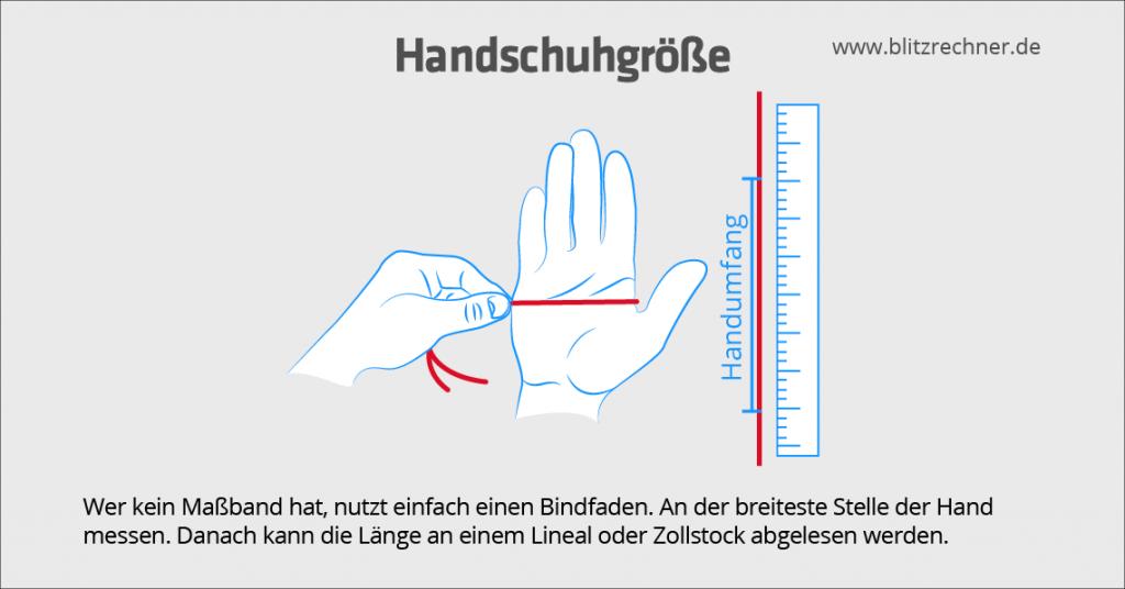 handschuhgroesse