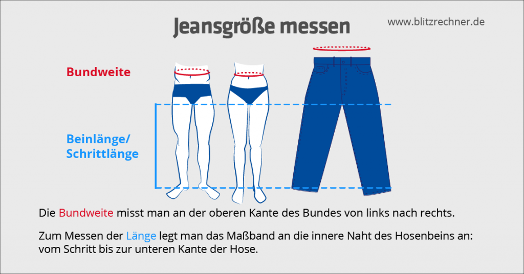 jeansgroesse